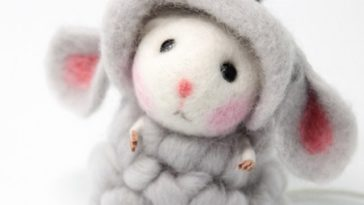 needle_felted_felting_animals_cute_mouse_sheep_crafts_1